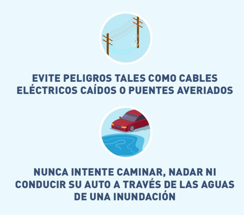 Ícono ilustrado de un cable eléctrico y un auto cerca del agua