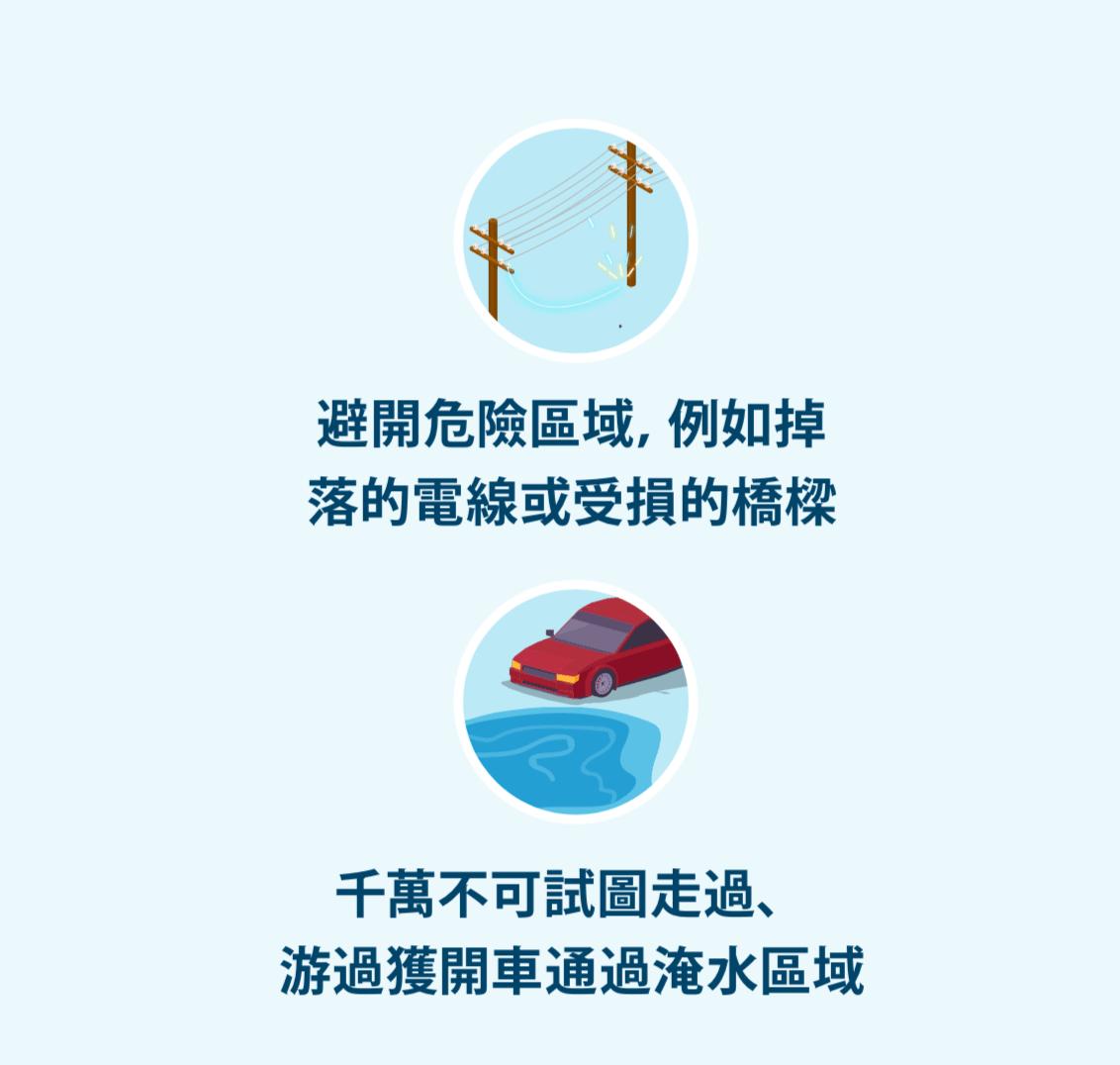 電力線和車子在水邊的插圖圖示