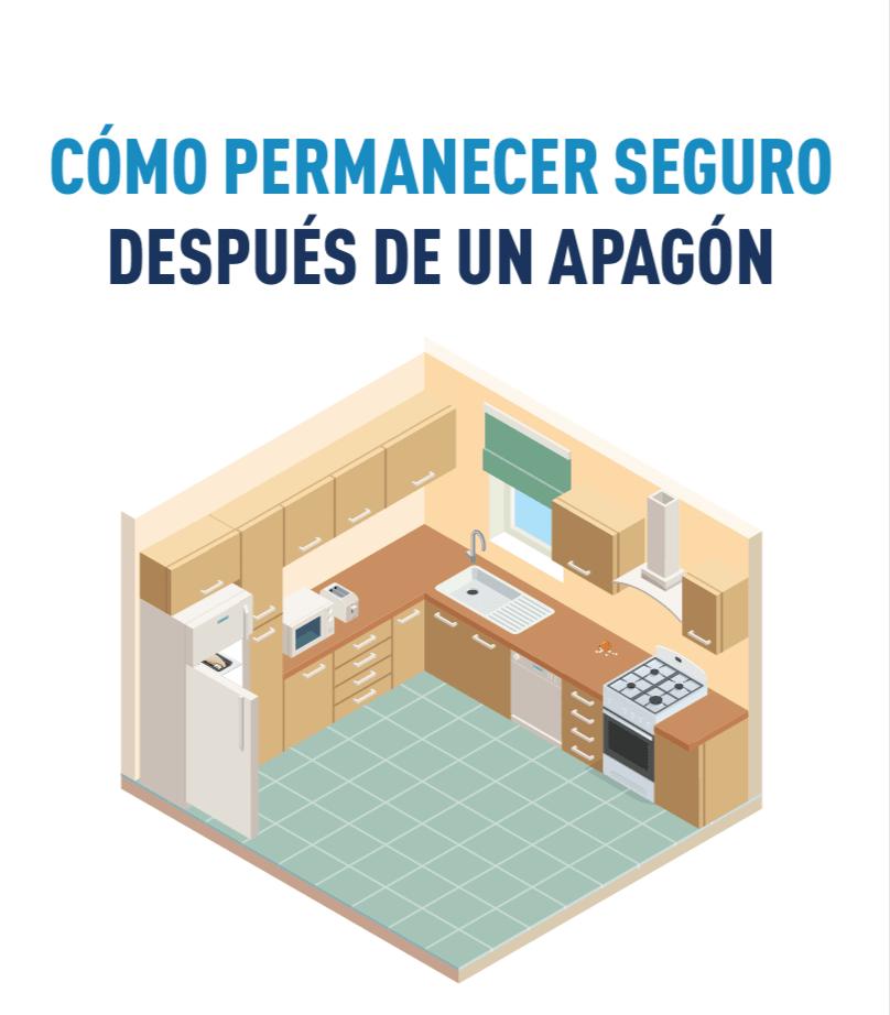 Ilustración de una cocina.