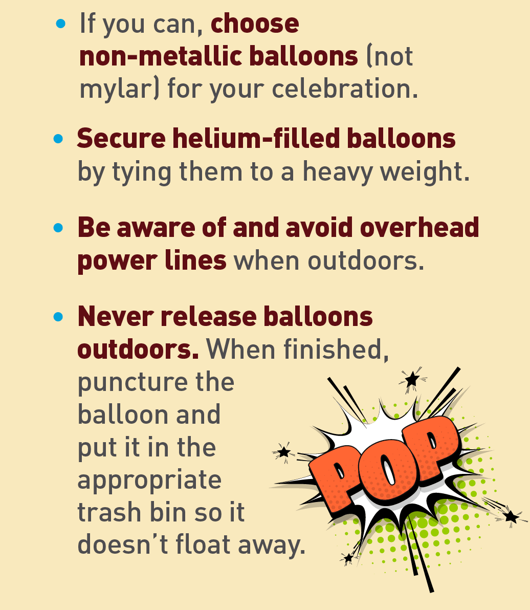 Graphic of popped balloon