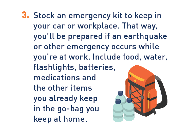 Graphic of emergency kit